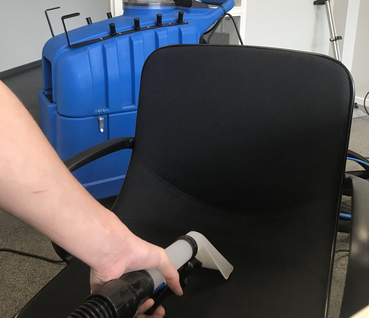 Dieptereiniging stoelen